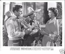 "Dorothy McGuire Pepe Hern  ""Make Haste To Live"" 1954 8x10 still"