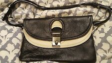 Marc Jacobs beige and black Leather Daydream Clutch/shoulder bag....NEW