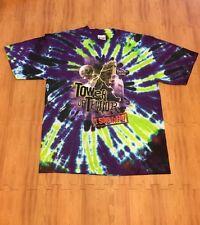 Vintage Tower of Terror The Twilight Zone Disney World Tie Dye XL Shirt