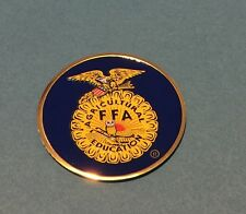 FFA FUTURE FARMERS OF AMERICA, 2' INCH LITHO INSERT ADHESIVE BACK FREE SHIPPING
