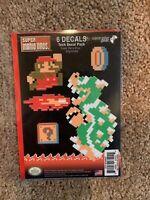 Super Mario Bros. King Koopa Tech Decal 6 Pack GET IT FAST ~ US SHIPPER