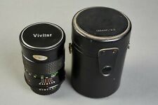 Vivitar 135mm f/2.8 Auto Telephoto Lens For Minolta M / Md mount, with hard case