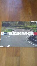 Suzuki Range UK Sales Brochure (2008), Incl V-Strom, GSX-R1000 & Hayabusa