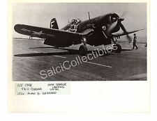 WWII  US Navy Aircraft Photograph USS Vought Corsair F4-U Official Photo 8x10