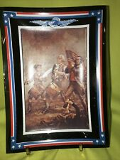 """""""The Spirit Of 76 A.M Willard� Patriotic Collectible Plate"""