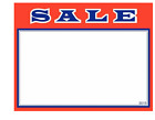 """100 - 5.5"""" x 7"""" Sale price cards for Retail Stores Signage Very Nice Signs"""