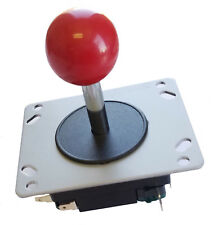 Classic balltop Arcade Joystick Red Ball Design 4 or 8-way Replaces JS19