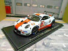 PORSCHE 911 991 RSR 24h Le Mans 2019 #86 Gulf Preining Barker Wainwri Spark 1:43