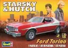 Revell Monogram 1/25 Starsky & Hutch Ford Torino Plastic Model Kit 85-4023