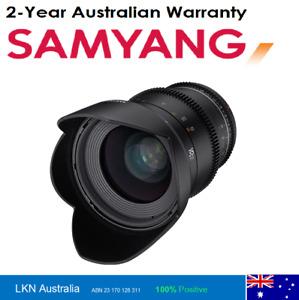 Samyang 35mm T1.5 MK2 VDSLR Full Frame Cine Lens