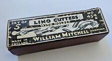 Vintage Boxed William Mitchell Lino Cutters with Holder No 454