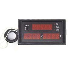 DL69-2048 100A Digital Watt Power Meter Volt Amp Ammeter Voltmeter 80-300V