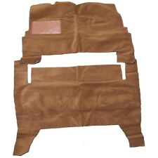 FORD FAIRLANE, VICTORIA, MERCURY MONTEREY 55-56 2 DR SADDLE TAN LOOP CARPET