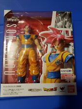 S.H. Figuarts Super Saiyan God son Goku Great Condition Dragon ball z
