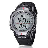 heiß Herren Wasserdicht Digital LED Quarz Alarm Datum Outdoor Sport Armbanduhr