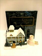 Thomas Kinkade Victorian Christmas Sculpted Night Light, New In Box
