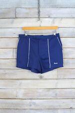 Vintage Navy Blue Tennis Sports Shorts (W32) (12/14)