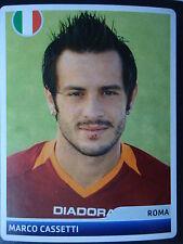Panini 147 Marco Cassetti AS Roma UEFA CL 2006/07