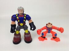 Fisher Price Rescue Heroes Chief Firefighter Lot of 2 Action Figure Pet Monkey