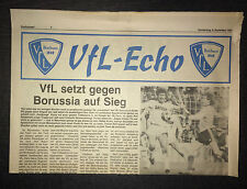 BL 83/84 VfL Bochum - Borussia Mönchengladbach, 08.09.1983 VfL-Echo