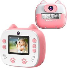Sofortbildkamera f. Kinder Kids Digitalkamera Cam Direktdruck 1080p 26MP 2 Zoll