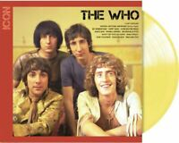 The Who - Icon Exclusive Limited Edition Custard Yellow Colored Vinyl LP