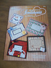 Heartfelt Sentiments Plastic Canvas Leaflet The Needlecraft Shop 973050
