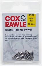 Cox and Rawle Brass Rolling Swivels