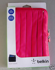 Belkin Pleated Kindle Fire Sleeve RED Case Cover Tablet FITS E READERS 8""