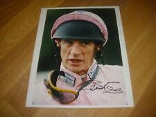Brendan Powell horse racing NH jockey 6/11/96 original main Photo de presse signé
