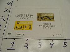 juegos de la XIX olimpiada 1968, serie preolimpica 1967 #3