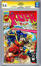 mm X-MEN #1 CGC SS 9.4 NM <> SIGNED BY STAN LEE <> JIM LEE COVER & ART 1991