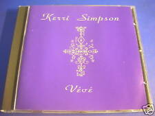 Kerri simpson veve (Chris wilson) shock records CD rar!
