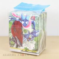 Pokemon Center Original Card Flip deck case Greninja & Zoroark TAG TEAM GX