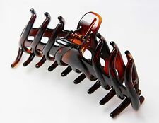 French Hair Claw Clip Celluloid Tortoise Shell Large 5 Inches Hair Clamps T06