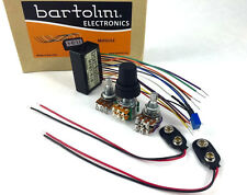 Bartolini NTBTG-918 Active 2-band Bass Guitar Preamp Kit PU-1273-000
