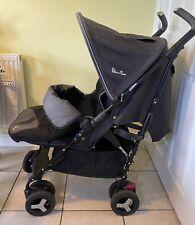 Silver Cross Reflex Stroller from birth to 25kg Pushchair Onyx Black