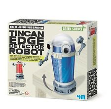 ECO-ENGINEERING TIN CAN EDGE DETECTOR ROBOT - GREEN SCIENCE KIDS ACTIVITY KIT 4M