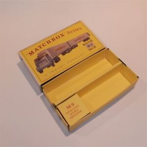 Matchbox Lesney Major Pack 9 a2 Double Freighter Repro Empty D2 Style Box Set