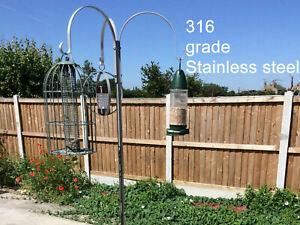 Wild Bird Feeding Station in Stainless Steel 316 grade bird feeder station