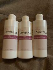 New MedSpa Baby Shampoo & Body Wash 4 oz (lot of 3)