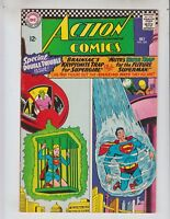 Action 339 VFNM (9.0) 7/68 Superman and Supergirl Stories! No Reserve!