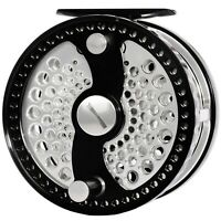 CNC MACHINED ALUMINUM 5/7 7/9 CLASSIC FLY REEL LARGE ARBOR ADJUSTABLE DISC DRAG