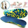 Niños Ortopédica Zapatos Plantillas Ortopédico Pies Planos Arco Soporte S-2XL GB