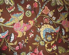 2 1/2 YDS COVINGTON 5tH AVENUE FLORAL FABRIC ~ WILMINGTON ~ UPHOLSTERY CURTAINS
