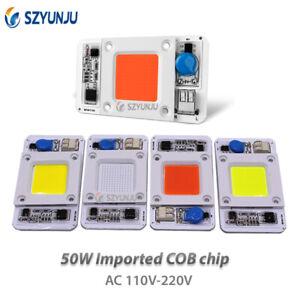 50W New type LED COB Lamp Chip AC 110V 220V Input Smart IC Driver Fit For LED