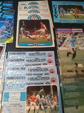 More details for huge x120 bulk lot manchester man city football programmes. [76/77 thru 81/82]
