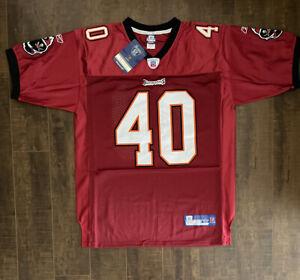 Mike Alstott Reebok Authentic Jersey Tampa Bay Buccaneers - New Size 48 (D5)