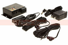 IR Remote Repeater Extender System Kit - 4 Infrared Hidden 2 Emitter 1 Receiver