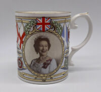 Caverswall Queen Elizabeth 60th Birthday Commemorative Mug Vintage Limited